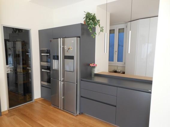 colonne forno con frigorifero libero