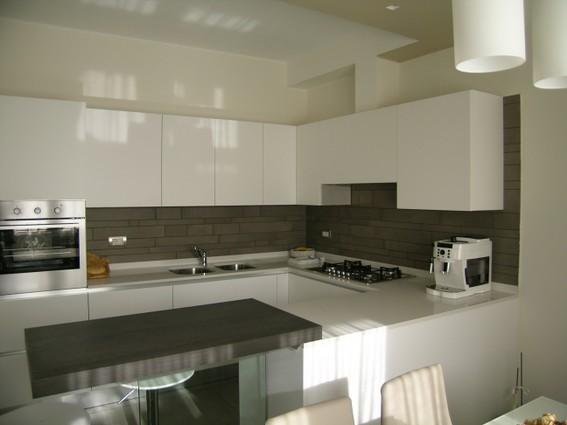 cucina bianca ernestomeda