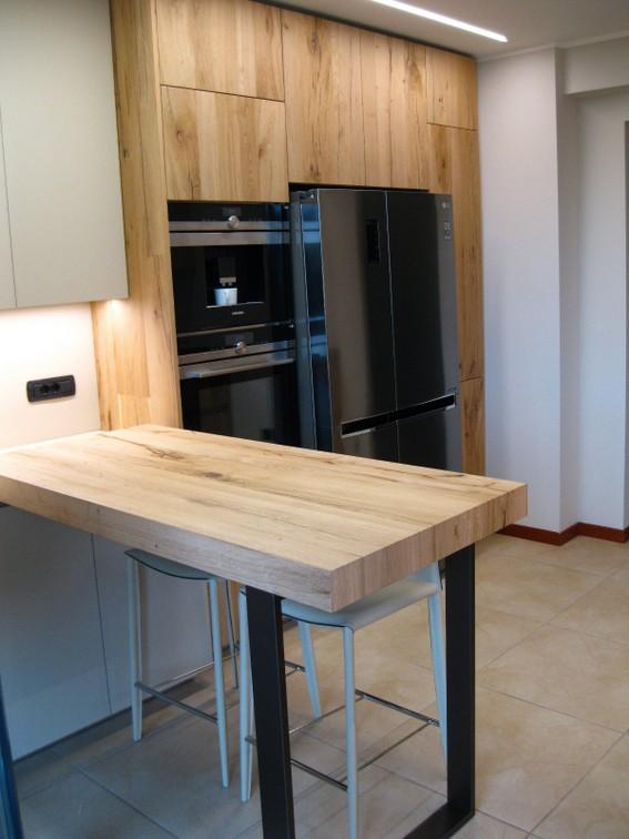 gruppo colonne forno e frigorifero